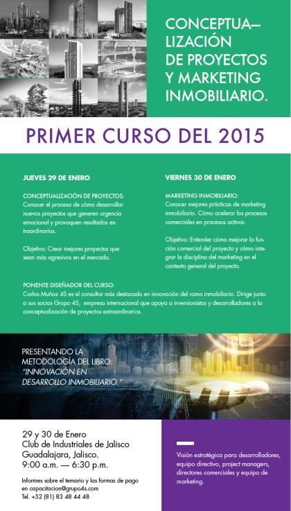 Flyer Curso Guadalajara