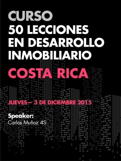 Curso 50 Lecciones en Desarrollo Inmobiliario - Costa Rica